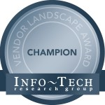 eGain is the knowledge champion (Info-Tech Research Group)